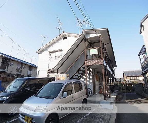 京都府向日市、桂川駅徒歩22分の築53年 2階建の賃貸アパート