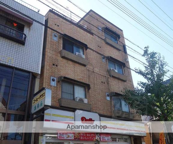 京都府京都市東山区、七条駅徒歩15分の築43年 4階建の賃貸マンション