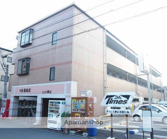 京都府京都市東山区、京都駅徒歩14分の築20年 3階建の賃貸マンション