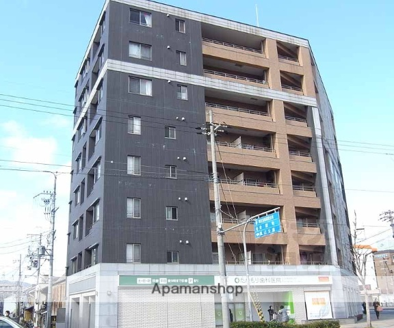 京都府京都市右京区、西院駅徒歩7分の築7年 8階建の賃貸マンション