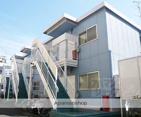 京都府京都市東山区、京都駅徒歩15分の築30年 2階建の賃貸マンション