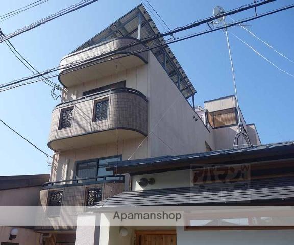京都府京都市東山区、京都駅徒歩17分の築16年 4階建の賃貸マンション
