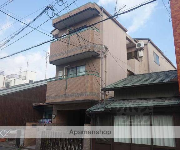 京都府京都市東山区、京都駅徒歩13分の築21年 3階建の賃貸アパート