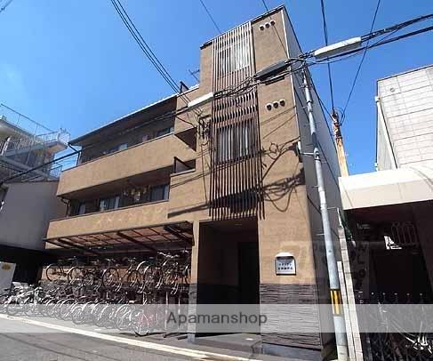 京都府京都市上京区、出町柳駅徒歩4分の築9年 3階建の賃貸マンション