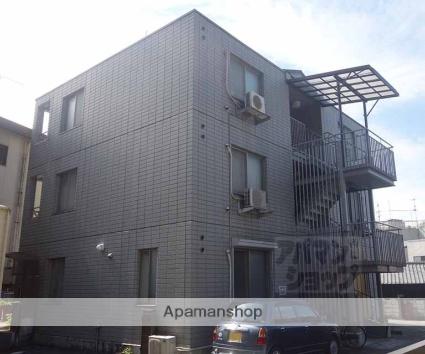 京都府京都市東山区、七条駅徒歩18分の築23年 3階建の賃貸アパート