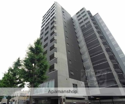 クリスタルグランツ京都高辻[1K/29.9m2]の外観4