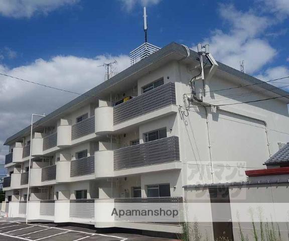 京都府京都市東山区、東福寺駅徒歩5分の築30年 3階建の賃貸マンション