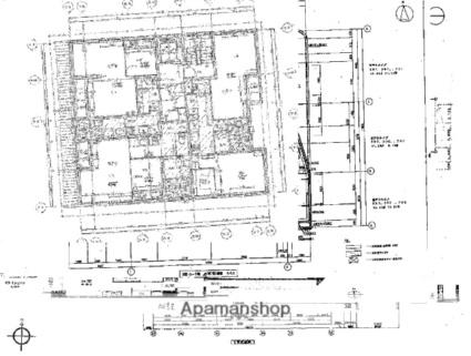 アネックスふや町[1LDK/42.89m2]の配置図