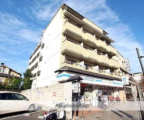 京都府京都市東山区、三条駅徒歩13分の築30年 5階建の賃貸マンション
