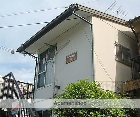 京都府京都市東山区、三条駅徒歩10分の築30年 2階建の賃貸アパート