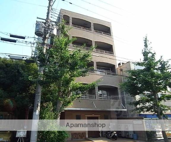 京都府京都市左京区、一乗寺駅徒歩15分の築17年 5階建の賃貸マンション