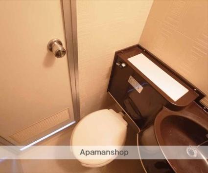 ハイツ村岡[1K/17m2]のトイレ