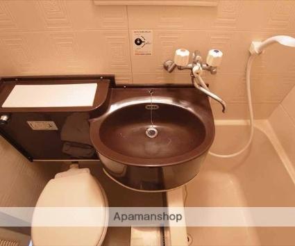 ハイツ村岡[1K/17m2]の洗面所