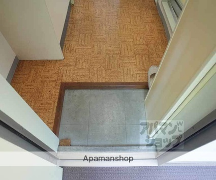 ヴィラ六基[1K/18m2]の玄関