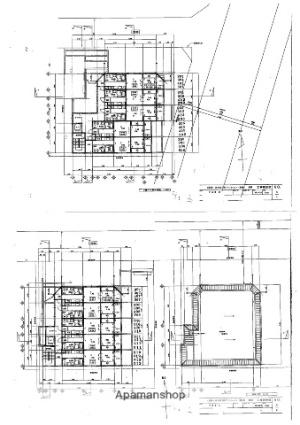 ヴィヴィ茶山[2K/36.24m2]の配置図