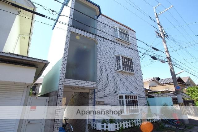 京都府京都市左京区、一乗寺駅徒歩12分の築28年 3階建の賃貸マンション