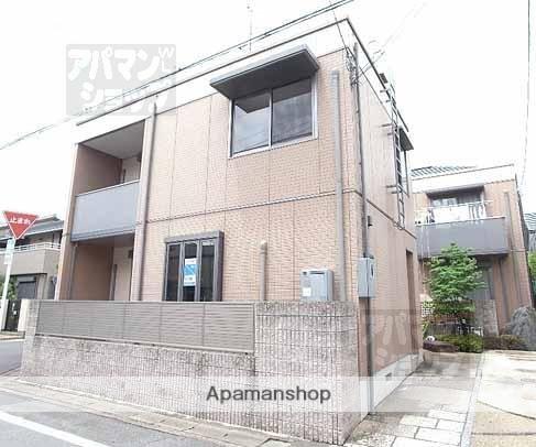 京都府京都市左京区、修学院駅徒歩21分の築12年 2階建の賃貸テラスハウス