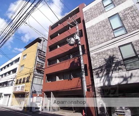 京都府京都市中京区、烏丸駅徒歩10分の築21年 7階建の賃貸マンション