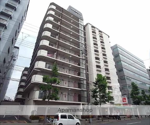 京都府京都市中京区、二条駅徒歩16分の築35年 11階建の賃貸マンション