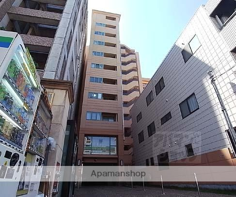 京都府京都市中京区、烏丸駅徒歩8分の築15年 11階建の賃貸マンション