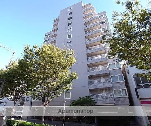 京都府京都市中京区、烏丸駅徒歩15分の築17年 13階建の賃貸マンション