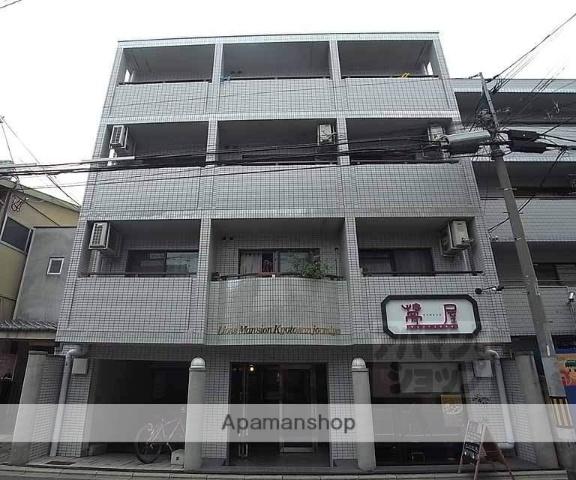 京都府京都市中京区、二条駅徒歩12分の築27年 4階建の賃貸マンション