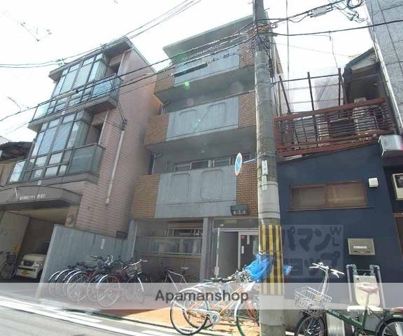 京都府京都市中京区、丸太町駅徒歩8分の築33年 4階建の賃貸マンション
