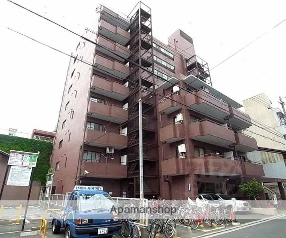 京都府京都市中京区、丸太町駅徒歩5分の築31年 9階建の賃貸マンション