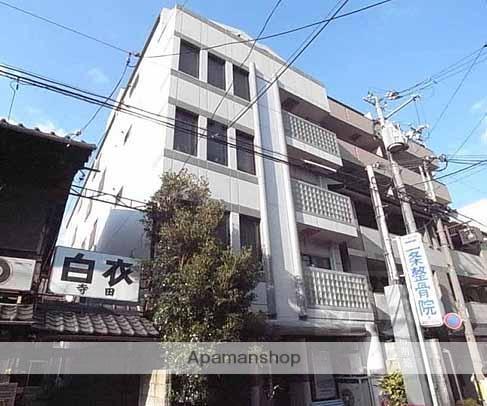 京都府京都市中京区、丸太町駅徒歩10分の築27年 5階建の賃貸マンション