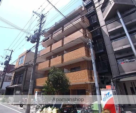 京都府京都市中京区、烏丸駅徒歩13分の築29年 9階建の賃貸マンション