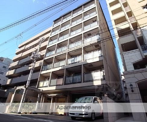 京都府京都市中京区、三条駅徒歩8分の築21年 7階建の賃貸マンション