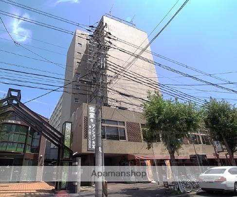 京都府京都市中京区、丹波口駅徒歩12分の築43年 9階建の賃貸マンション