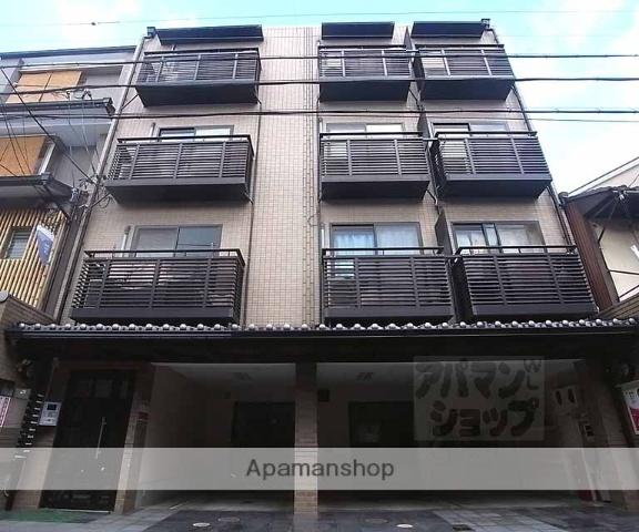 京都府京都市中京区、三条駅徒歩10分の築18年 4階建の賃貸マンション