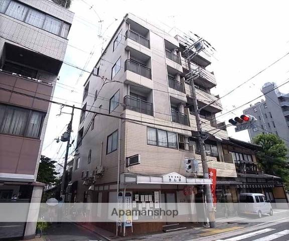 京都府京都市中京区、大宮駅徒歩13分の築25年 5階建の賃貸マンション