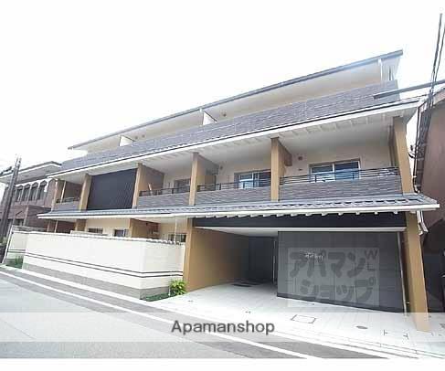 京都府京都市中京区、神宮丸太町駅徒歩12分の築5年 3階建の賃貸マンション