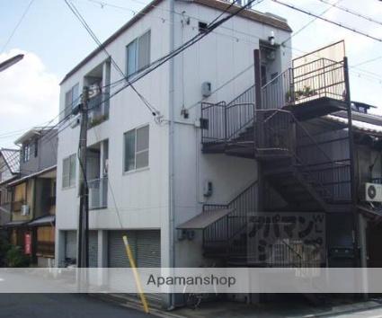京都府京都市中京区、大宮駅徒歩4分の築37年 3階建の賃貸マンション