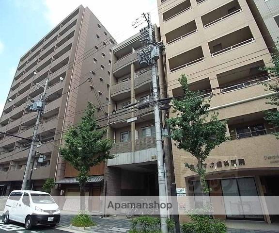 京都府京都市中京区、三条駅徒歩10分の築15年 5階建の賃貸マンション