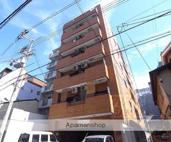 京都府京都市中京区、大宮駅徒歩5分の築25年 7階建の賃貸マンション