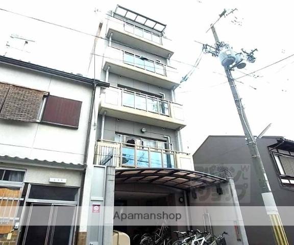 京都府京都市中京区、三条駅徒歩11分の築17年 5階建の賃貸マンション