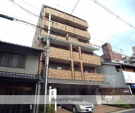 京都府京都市中京区、丸太町駅徒歩4分の築10年 7階建の賃貸マンション