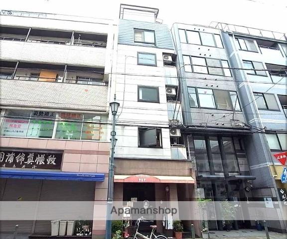 京都府京都市中京区、三条駅徒歩8分の築23年 5階建の賃貸マンション