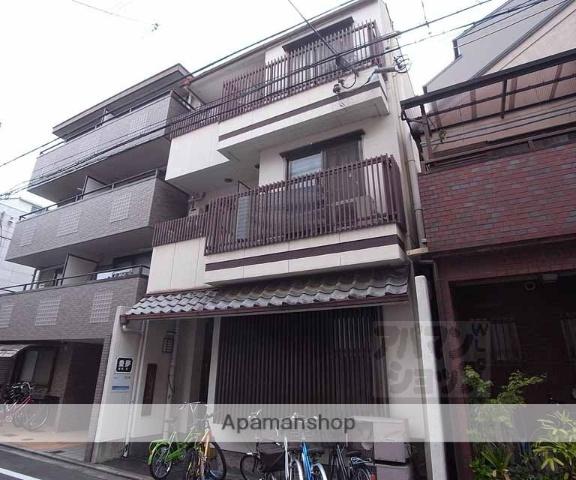 京都府京都市中京区、三条駅徒歩10分の築35年 3階建の賃貸マンション