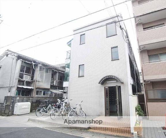 京都府京都市左京区、茶山駅徒歩16分の築28年 3階建の賃貸マンション