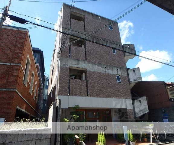 京都府京都市上京区、出町柳駅徒歩20分の築22年 4階建の賃貸マンション