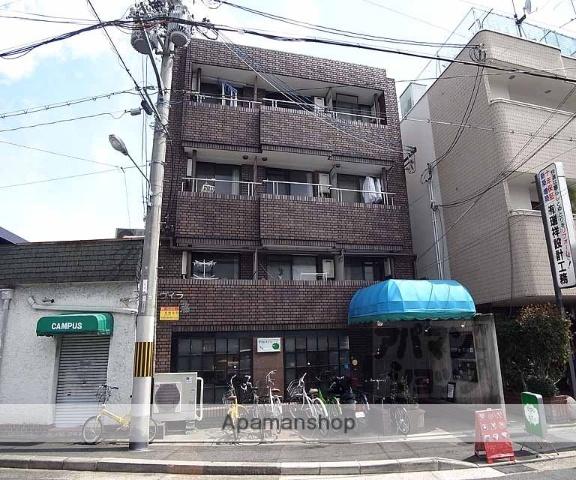 京都府京都市上京区、北大路駅徒歩19分の築31年 4階建の賃貸マンション