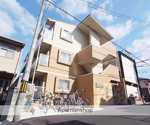 京都府京都市左京区、元田中駅徒歩6分の築6年 3階建の賃貸マンション