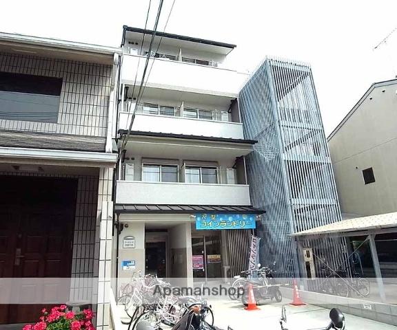 京都府京都市上京区、二条駅徒歩21分の築4年 4階建の賃貸マンション