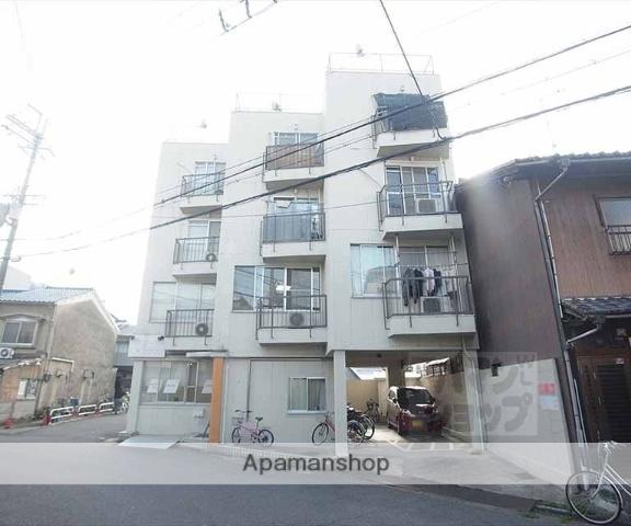 京都府京都市左京区、出町柳駅徒歩3分の築43年 4階建の賃貸マンション