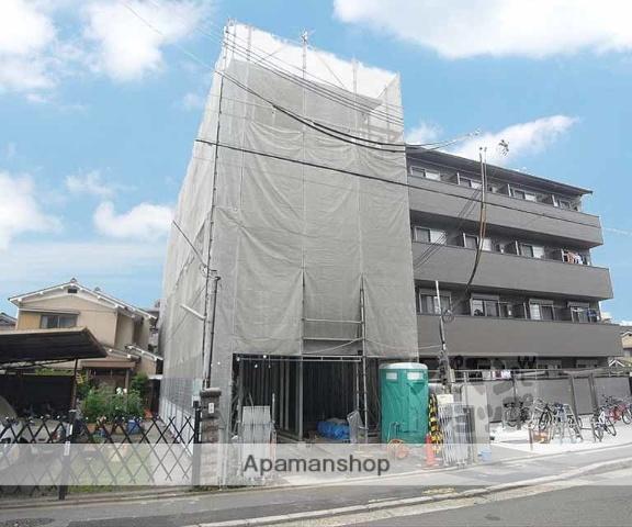 京都府京都市左京区、元田中駅徒歩5分の新築 4階建の賃貸マンション