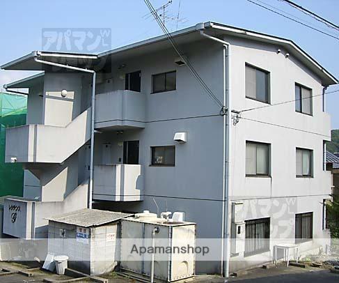 京都府京都市左京区、木野駅徒歩11分の築23年 3階建の賃貸マンション